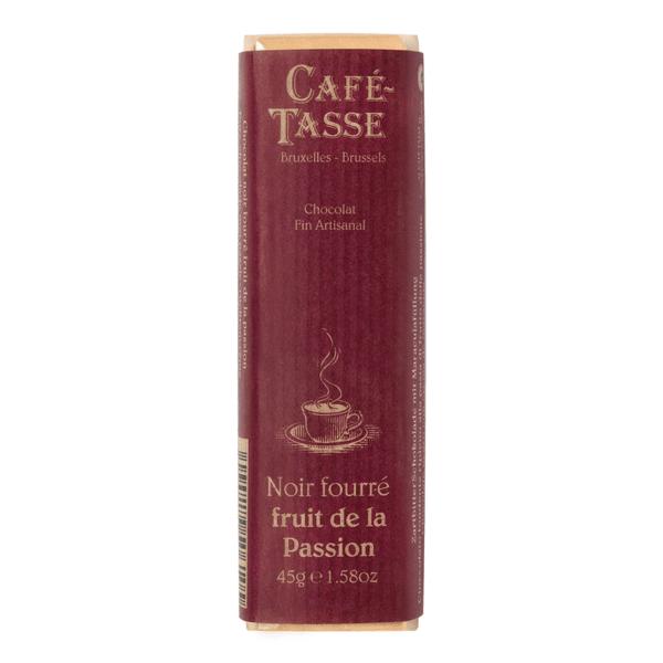 Café-Tasse белгийски шоколад-черен с маракуя